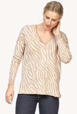 Lilla P Animal VNeck Sweater