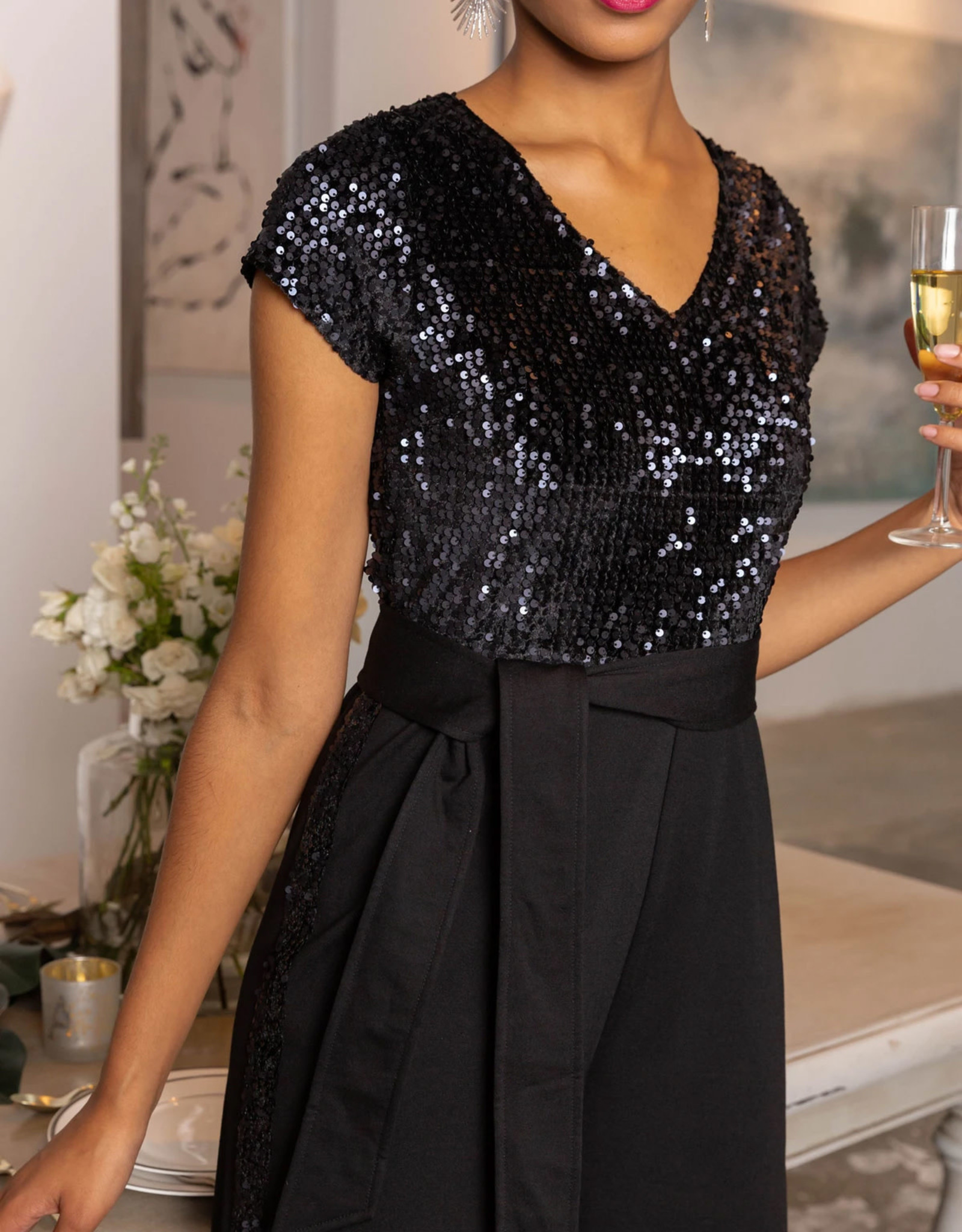 Abbey Glass Brie Jumpsuit