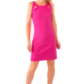 Gretchen Scott Solid Jersey Isosceles Dress