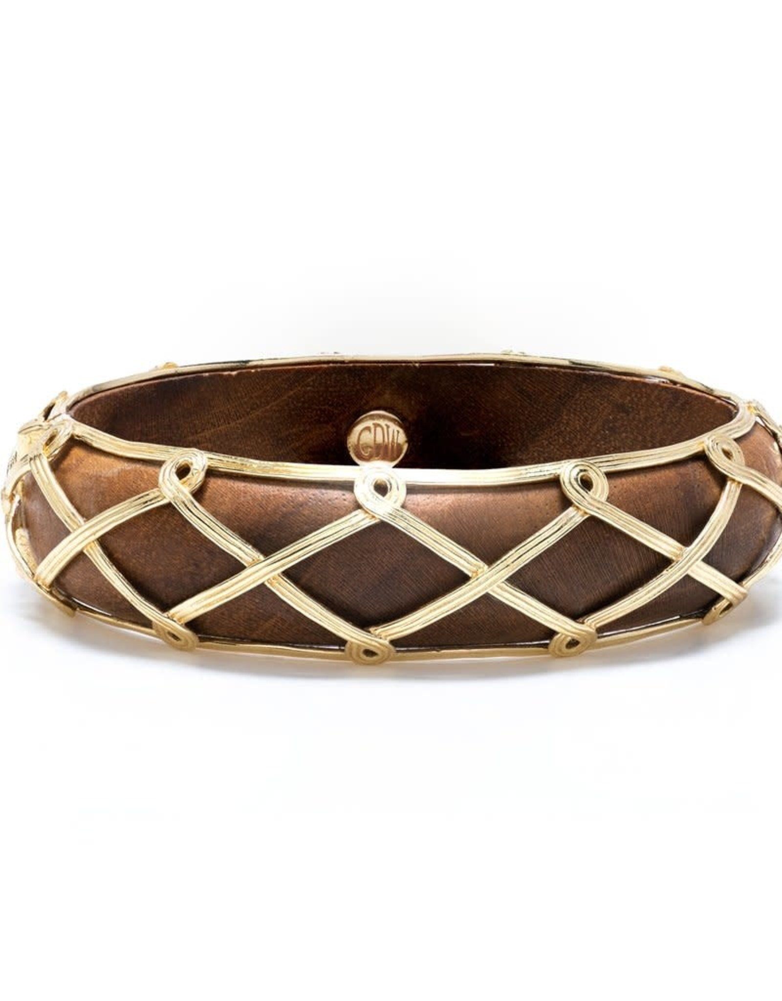 Capucine de Wulf Earth Goddess Hinged Bangle
