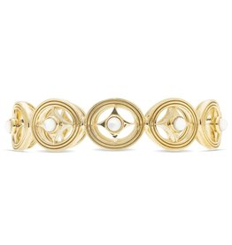 Capucine de Wulf Monique Hinged Bangle