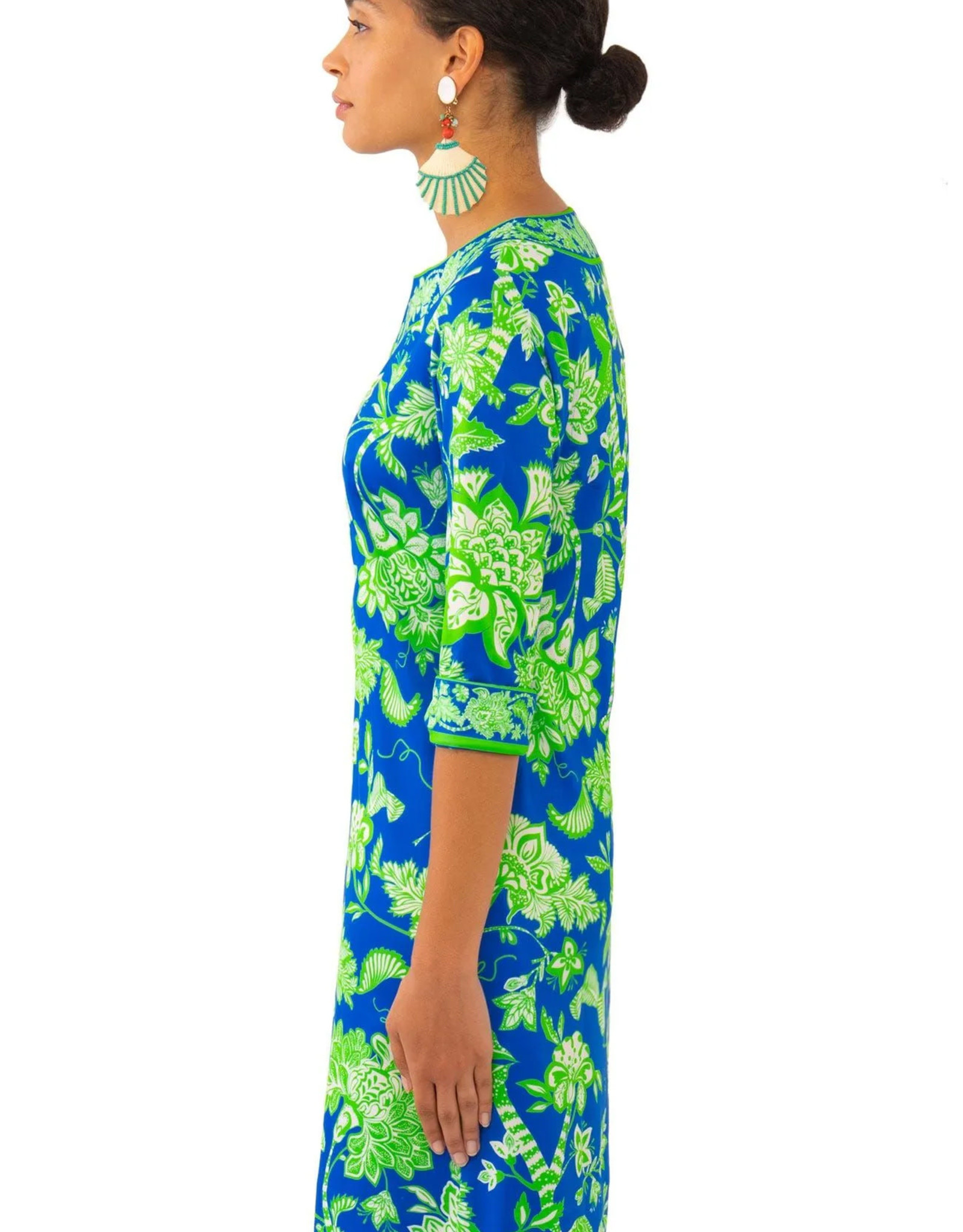 Gretchen Scott Split Neck Dress