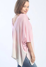 Zoe Couture Double V-Neck Poncho