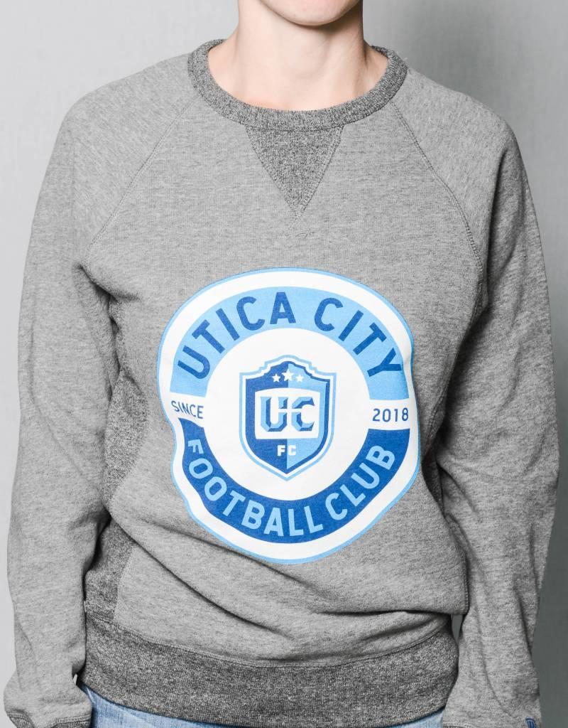 Sportiqe Derek UCFC Grey Crew Neck Sweatshirt w/ Roundel Logo