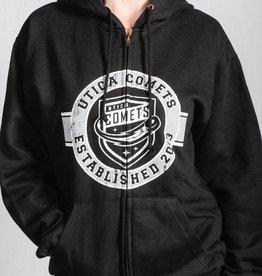 MV Sports MV Sport Black Classic Fleece Full Zip