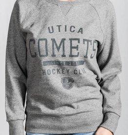 Sportiqe Kendall Women's Sweatshirt Grey w/ U Logo