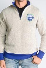 47 Brand Kodiak 1/4 Zip Sweatshirt Grey w/ Comets Shield
