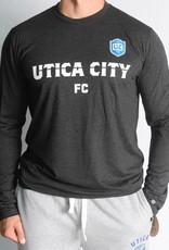 Sportiqe UCFC L/S Comfy Black T-Shirt w/ Crest Logo