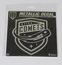 Wincraft Comets Metalic Window Decal