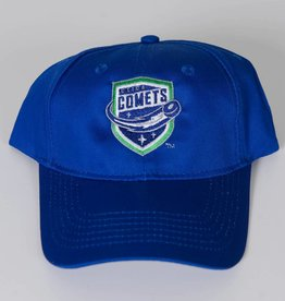Port & Company Youth Hat Blue w/ Comets Shield