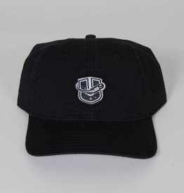 Sportiqe Black Adjustable Hat w/ Raised U Logo