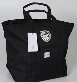 Herschel Bamfield Black Tote w/ Comets Shield Logo