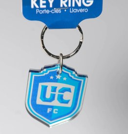 UCFC Shield Logo Keychain