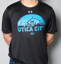 UCFC Utica City Skyline Black T-Shirt