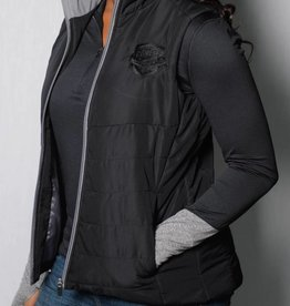 Women's Hollaway Black Vest w/ Comets Shield