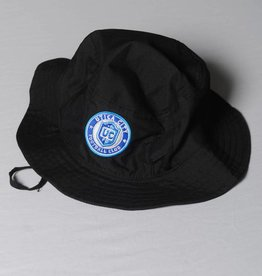 Pacific Headware UCFC Black Bucket Hat w/ Roundel Logo