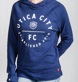 Sportiqe Winston UCFC Navy Sweatshirt w/ Crest Logo