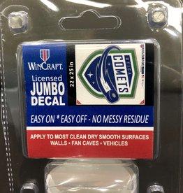"Wincraft 22""x25"" Jumbo Comets Decal"