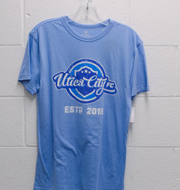 Top of the World Light Blue Tri-Blend T-Shirt w/ Retro UCFC Logo