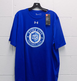 Official UCFC Team Gear Under Armour Blue Locker Room T-Shirt