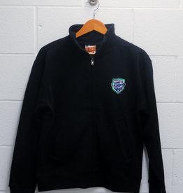 MV Sport Pro Weave Full Zip Black Jacket w/ Comets Shield