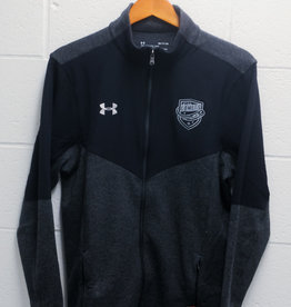 Under Armour Full Zip Black Jacket w/ Comets Shield