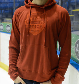 Utica Comets Copper 7 Series Rust Hooded Thermal