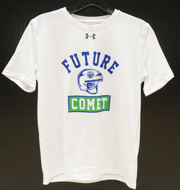 "Under Armour Youth White ""Future Comet"" Locker Room T-Shirt"