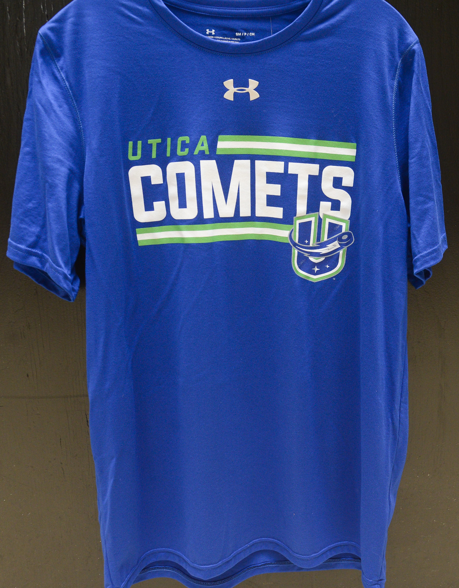 Under Armour Blue Locker Room T-Shirt w/ Comets U Logo
