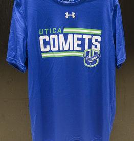 Under Armour Blue Locker Room T-Shirt w/ Comets U Logo