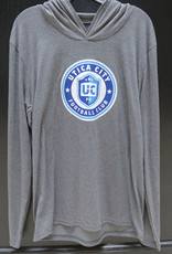 District Grey Lightweight Hoodie w/ UCFC Roundel Logo