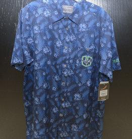 Chiliwear Utica Comets Blue Hawaiian Shrt w/ U Logo