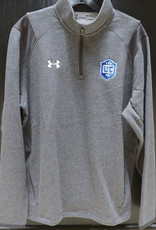 Grey Under Armour Fleece 1/4 Zip w/ UCFC Crest