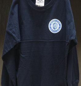 J. America Blue Youth Long Sleeve w/ UCFC Roundel Logo