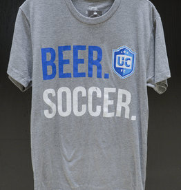 108 Stitches Beer. Soccer. T-Shirt