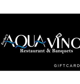 $25 Aqua Vino Gift Card