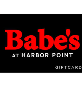 $25 Babe's at Harbor Point Gift Card