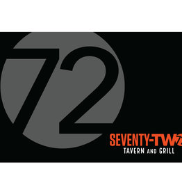 $25 72 Tavern & Grill Gift Card