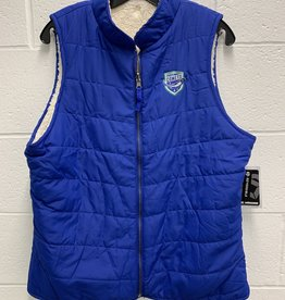 Colosseum Colosseum Women's Reversible Vest w/ Comets Shield