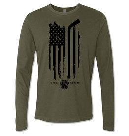 Utica Comets Veteran's Day Long Sleeve Shirt