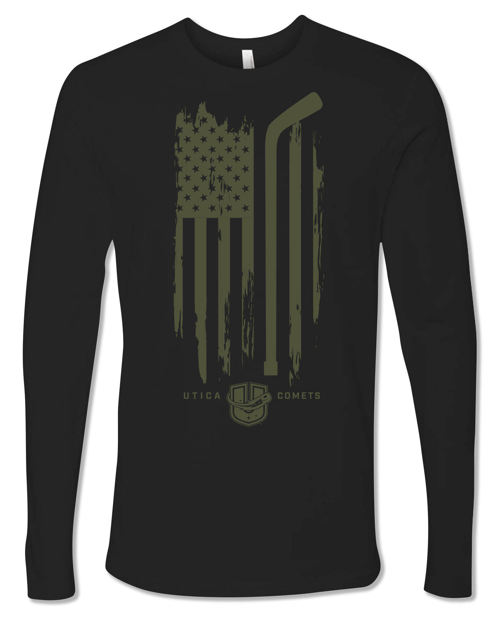 Utica Comets Veteran's Day Long Sleeve Shirt