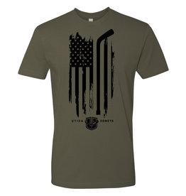 Utica Comets Veteran's Day T-Shirt
