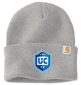 Utica City FC Grey Carhartt Beanie