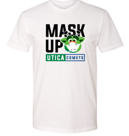 Audie 'Mask Up' White T-Shirt