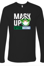 Audie 'Mask Up' Black Long Sleeve Shirt