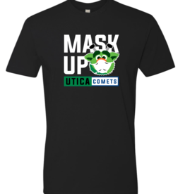 Audie 'Mask Up' Black T-Shirt
