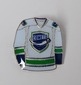 JF Sports White Jersey Pin