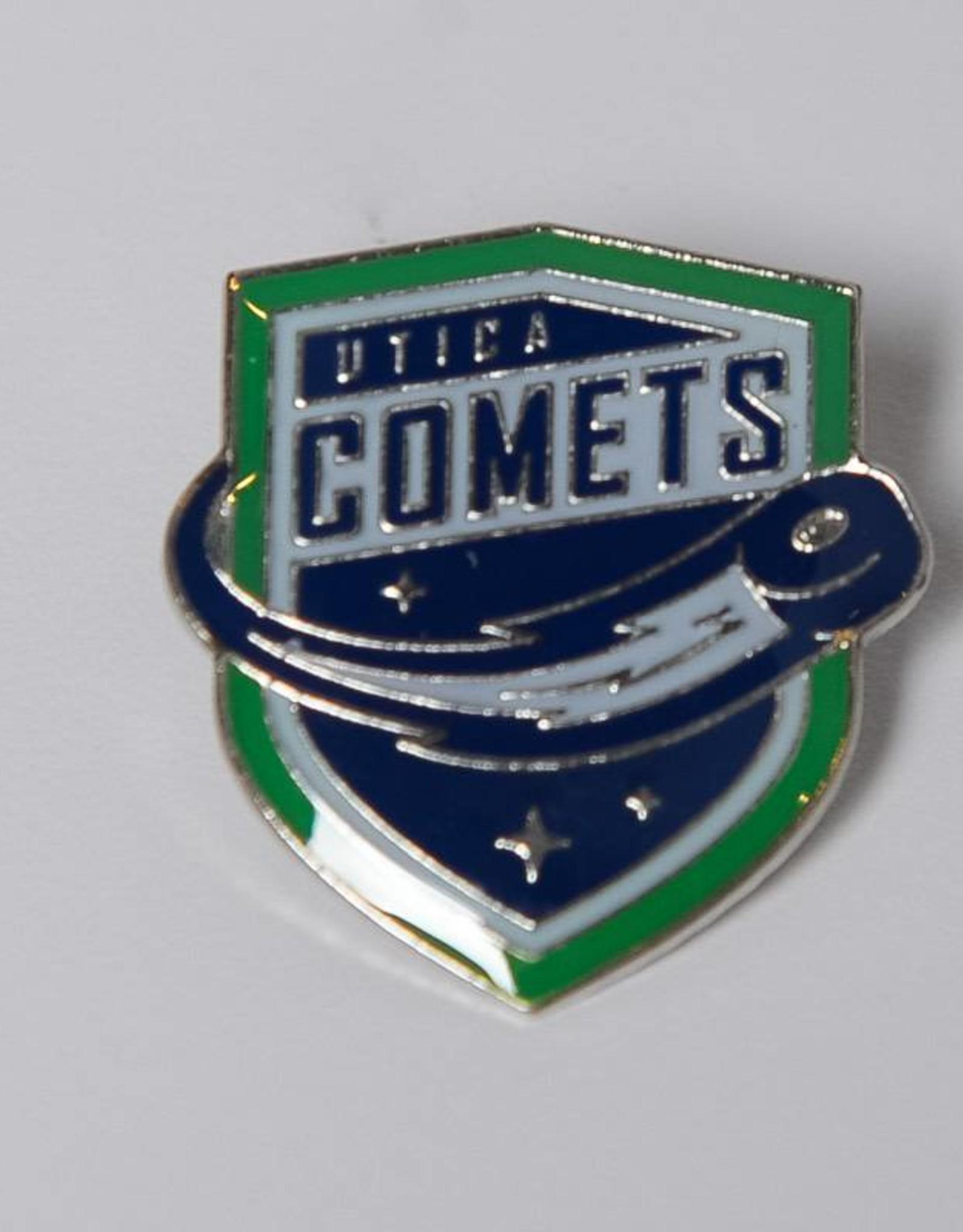 JF Sports Comets Logo Pin