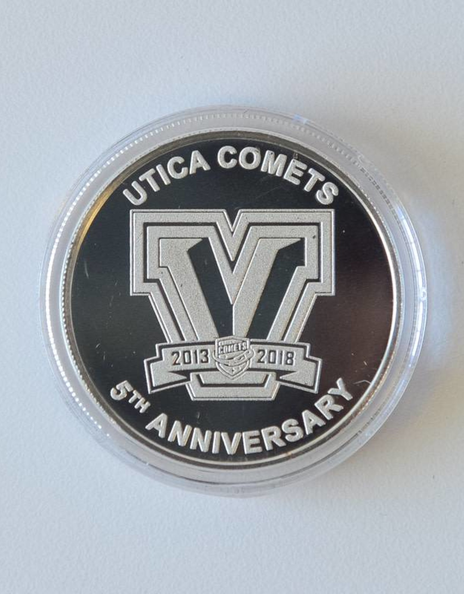 The Highland Mint 5th Anniversary Collector Coin