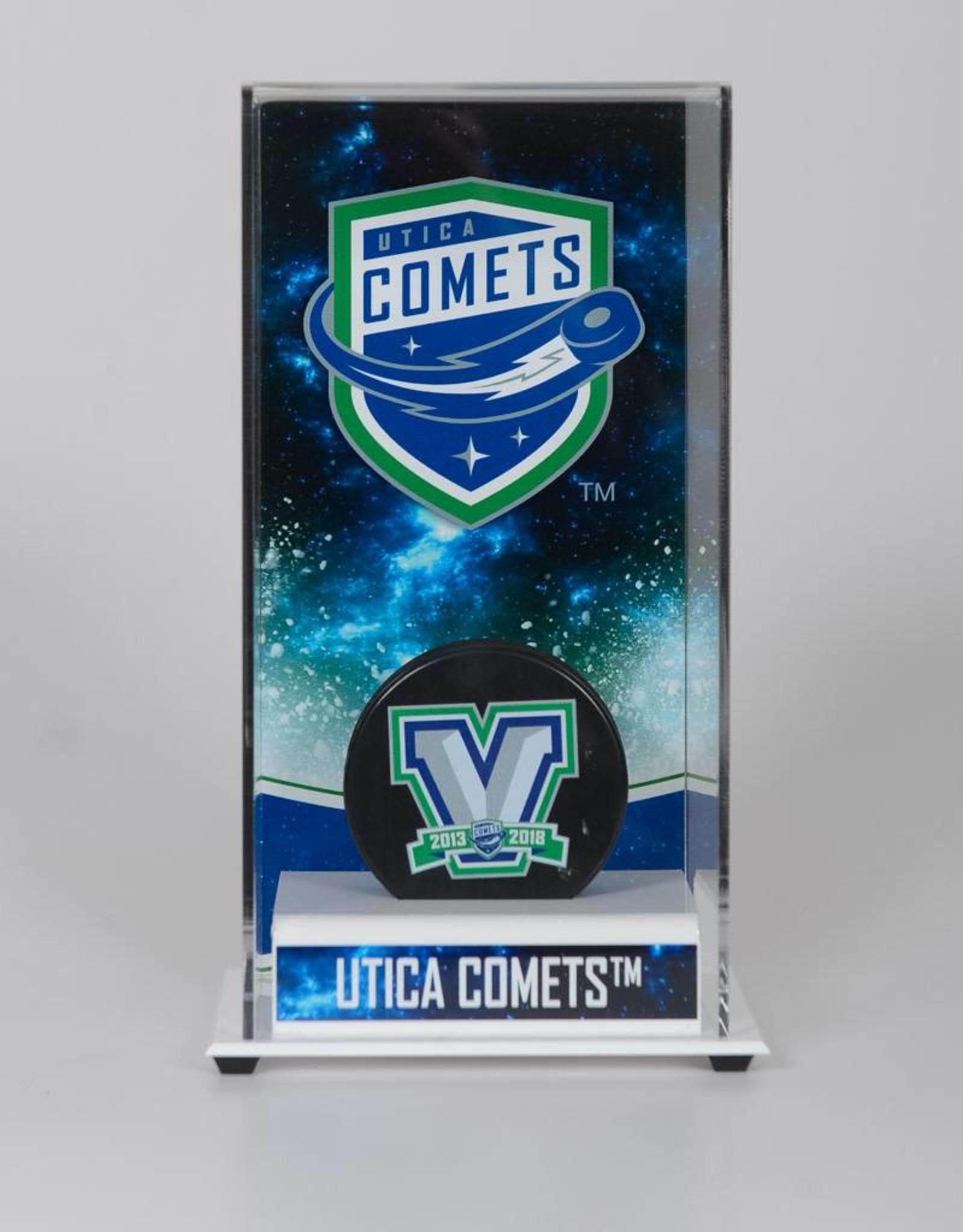 Fanatics Utica Comets Deluxe Tall Puck Case